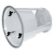 Rollhocker fahrbar Tragkraft 150kg grau Metall Wedo 212.112 Produktbild Additional View 1 S