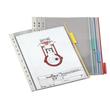Sichttafeln FUNCTION mit 60mm Tabs A4 für Tafelträger farblos Durable 5607-19 (PACK=5 STÜCK) Produktbild Additional View 1 S