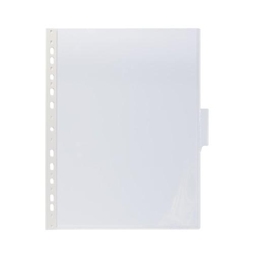 Sichttafeln FUNCTION mit 60mm Tabs A4 für Tafelträger farblos Durable 5607-19 (PACK=5 STÜCK) Produktbild