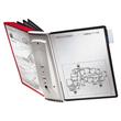 Sichttafelwandhalter SHERPA WALL MODULE 10 leer für 10 Sichttafeln Durable 5621-10 Produktbild