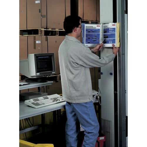 Sichttafelwandhalter FUNCTION WALL MODULE 10 leer für 10 Sichttafeln Durable 5674-10 Produktbild Additional View 3 L