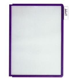 Sichttafeln SHERPA A4 für Tafelträger blauviolett Durable 5606-44 (PACK=5 STÜCK) Produktbild