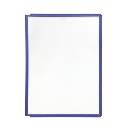 Sichttafeln SHERPA A4 für Tafelträger blauviolett Durable 5606-44 (PACK=5 STÜCK) Produktbild Additional View 2 L