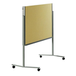 Moderationswand PREMIUM klappbar mobil 150x120cm beige filzbespannt Legamaster 7-205100 Produktbild
