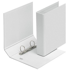 Präsentationsringbuch Velodur mit Sichttaschen A5 2Ringe Ringe-Ø30mm weiß PP Veloflex 4157390 Produktbild