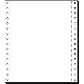 """Endlospapier 8""""x180mm 70g weiß blanko 1-fach mit Längsperforation Sigel 08181 (KTN=2000 BLATT) Produktbild"""