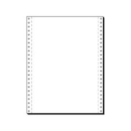 Endlospapier 12x240mm 70g weiß blanko 1-fach mit Längsperforation (KTN=2000 BLATT) Produktbild