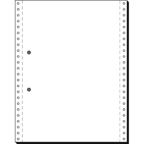 """Endlospapier mit Abheftlochung 12""""x240mm 70g weiß blanko 1-fach mit Längsperforation Sigel 12246 (KTN=2000 BLATT) Produktbild"""