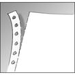"""Endlospapier mit Abheftlochung 12""""x240mm 70g weiß blanko 1-fach mit Längsperforation Sigel 12246 (KTN=2000 BLATT) Produktbild Additional View 1 S"""