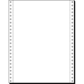 """Endlospapier 12""""x240mm 80g weiß blanko 1-fach mit Längsperforation Sigel 91185 (KTN=2000 BLATT) Produktbild"""
