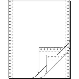 """Endlospapier 12""""x240mm 60g weiß blanko 3-fach selbstdurchschreibend Sigel 91300 (KTN=600 SÄTZE) Produktbild"""