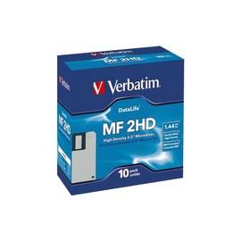 Disketten 3,5 HD-MF2 DOS formatiert 1,44MB 12-100-001 (PACK=10 STÜCK) Produktbild