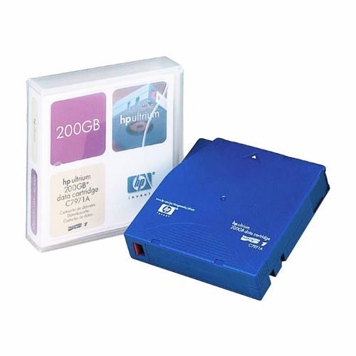 Data Cartridge LTO-1 Ultrium 200GB HP C7971A Produktbild Front View L
