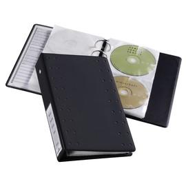 CD/DVD Index 20 Ringbuch mit 10 Hüllen und Schutzvlies 185x273x55mm für 20 CDs/DVDs anthrazit Durable 5204-58 Produktbild