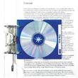 CD Cover-Hülle Mäx Tray für 1 CD ultramarin HAN 9201-14 Produktbild Additional View 1 S