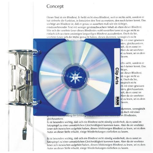 CD Cover-Hülle Mäx Tray für 1 CD ultramarin HAN 9201-14 Produktbild Additional View 1 L