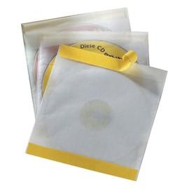 CD/DVD Fix Hülle selbstklebend mit Schutzvlies für 1 CD/DVD mit Booklet oder 2 CDs/DVDs transparent Durable (BTL=10 STÜCK) Produktbild