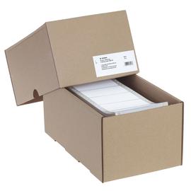 Endlosetiketten 101,6x48,4mm weiß 1-bahnig Herma 8213 (PACK=6000 STÜCK) Produktbild