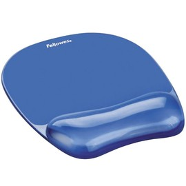 Mousepad Gel Crystal 230x200x25mm blau Fellowes 9114120 Produktbild