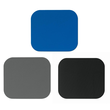 Mousepad 228x200x4mm blau Fellowes 58021 Produktbild Additional View 1 S