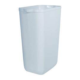 Abfallbehälter 23 Liter ohne Deckel / weiß / Kunststoff / 220x330x490mm Produktbild