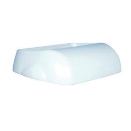 Deckel für Abfallbehälter 23 Liter / weiß /  Kunststoff / 340x230x90mm / Papernet Produktbild