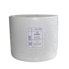 Putzrollen Recycling 2-lagig / weiß / 28x38cm / 570m / Ø33cm / 1500 Abrisse / Extra-nassfest Produktbild