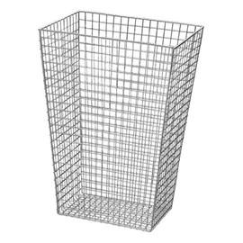Abfallkorb Edelstahl poliert 440x315x630mm 60l Produktbild