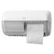 Toilettenpapierspender für Kleinrollen Kunststoff / weiß / 286x158x153mm / Tork 557000 Produktbild Additional View 1 S