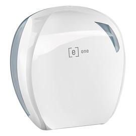 Toilettenpapierspender e6 weiß Mini Jumbo 277x135x297mm Produktbild