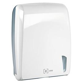 Handtuchspender e3 für Z- V- & C Falz weiß / Kunststoff / 320x141x410mm / e one Produktbild