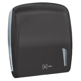 Handtuchspender e2 für Z- & C Falz schwarz matt / Kunststoff / 306x112x345mm / e one Produktbild