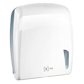 Handtuchspender e2 für Z & C Falz weiß / Kunststoff / 306x112x345mm / e one Produktbild