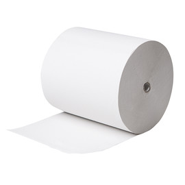 Handtuchrollen e1 2-lagig / weiß / 19cm / 150m / Recycling / e one (KARTON = 6 ROLLEN à 155 METER) Produktbild