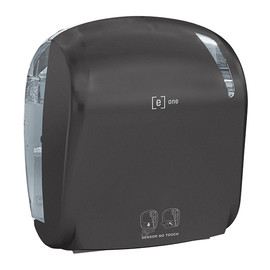 Sensor-Handtuchrollenspender e1 matt schwarz / Kunststoff / 330x221x371mm / e one Produktbild