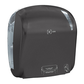 Autocut-Handtuchrollenspender e1 matt schwarz / Kunststoff / 330x221x371mm / e one Produktbild