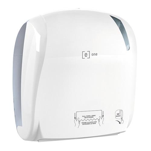 Autocut-Handtuchrollenspender e1 weiß / Kunststoff / 330x221x371mm / e one Produktbild