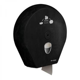 Toilettenpapierspender für Maxi Jumborollen / Kunststoff / schwarz / Produktbild