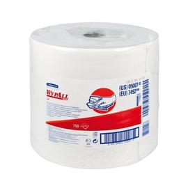 Wischtuch Wypall L40 Zellstoff/Latex 31,5x34cm 750 Abrisse 1-lagig weiß 7452 Kimberly Clark Produktbild