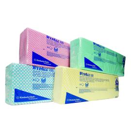 Wischtuch Wypall X80 1-lagig / blau / 43x35cm / Einzeltuchentnahme / Kimberly Clark 7365 (KTN=250 STÜCK) Produktbild