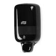 Seifenspender S2 mini  mit Druckknopf  475ml / schwarz / Kunststoff /  112x211x144mm / Tork 561008 Produktbild