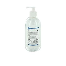 Händehygienikum antibakteriell  500ml / Pumpspenderflasche (ST=500 MILLILITER) Produktbild