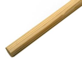Besenstiel ohne Gewinde / Ø24mm / 120cm / Holz Produktbild