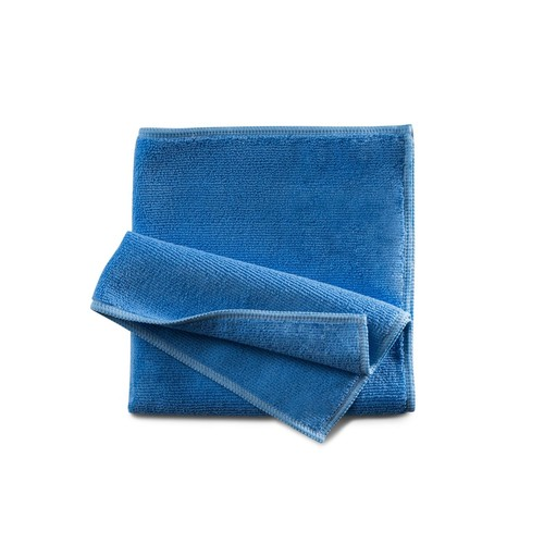 Mikrofasertuch Professional  / 40x40cm / blau Produktbild Front View L