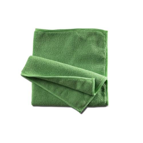 Mikrofasertuch Professional / 40x40cm / grün Produktbild Front View L