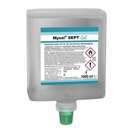 Händedesinfektionsmittel Myxal Sept Gel 1000ml / Neptuneflasche / (FL=1000 MILLILITER) Produktbild