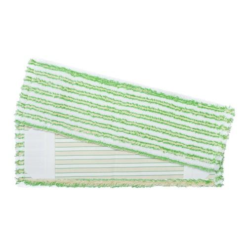 Wischmopp GREEN EDITION 50 cm / 50% Mikrofaser-Plüsch, 50% Baumwoll-Plüsch Produktbild Front View L