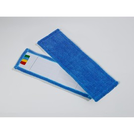 Wischmopp Mikrofaser SPEED 50cm blaue Schlingenware Produktbild