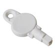 Schaumseifenspender e5 mit Druckknopf 500ml / weiß / Kunststoff / 124x114x232mm e one Produktbild Additional View 1 S