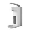 Desinfektionsmittel- & Seifenspender  mit Armhebel und Auffangschale  1000ml / weiß / Kunststoff / Temdex Produktbild